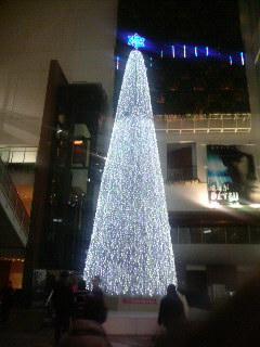 メディアージュのクリスマスツリー